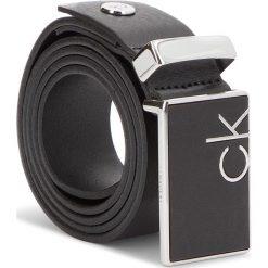 Pasek Męski CALVIN KLEIN - 3.5Cm Adj Covered Pl K50K504139 85 001. Czarne paski męskie Calvin Klein, w paski, ze skóry. Za 299,00 zł.