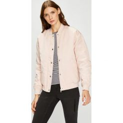 Calvin Klein Jeans - Kurtka bomber. Szare bomberki damskie marki Calvin Klein Jeans, m, z jeansu. W wyprzedaży za 459,90 zł.
