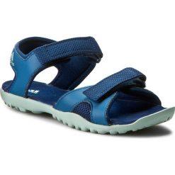 Sandały adidas - Sandplay Od K S82187 Mysblu/Tacgrn/Corblu. Niebieskie sandały męskie skórzane marki Adidas. W wyprzedaży za 169,00 zł.
