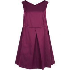 Sukienki hiszpanki: Sukienka w kolorze śliwkowym