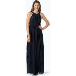 Marie Lund - Damska sukienka wieczorowa, niebieski. Niebieskie sukienki koktajlowe marki Marie Lund, z szyfonu. Za 449,95 zł.