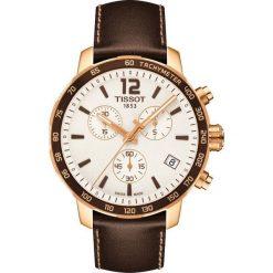 PROMOCJA ZEGAREK TISSOT T - SPORT T095.417.36.037.02. Białe zegarki damskie TISSOT, ze stali. W wyprzedaży za 1579,60 zł.