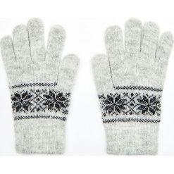 Rękawiczki - Jasny szary. Szare rękawiczki damskie Cropp. Za 24,99 zł.