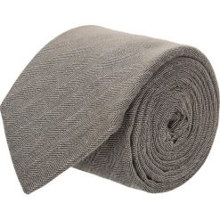 Krawat cotton beż classic 200. Brązowe krawaty męskie Recman, z bawełny, biznesowe. Za 59,00 zł.
