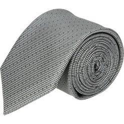 Krawaty męskie: krawat platinum szary classic 209