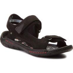 Sandały NIK - 06-0139-23-7-01-03 Czarny. Czarne sandały męskie skórzane Nik. W wyprzedaży za 159,00 zł.