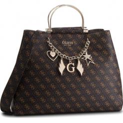 Torebka GUESS - HWSG71 79250 BRO. Brązowe torebki klasyczne damskie Guess, z aplikacjami, ze skóry ekologicznej. Za 739,00 zł.