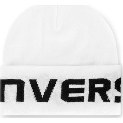 Czapka CONVERSE - 561462 White. Białe czapki zimowe damskie marki Converse, z materiału. Za 89,00 zł.