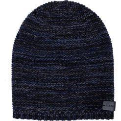 Czapka CZG0000017. Brązowe czapki zimowe męskie Giacomo Conti, na zimę, z aplikacjami, z wełny. Za 109,00 zł.