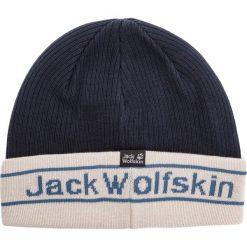 Czapka JACK WOLFSKIN - Pride Knit Cap 1907261 Night Blue. Niebieskie czapki z daszkiem męskie Jack Wolfskin. Za 85,99 zł.