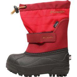 Columbia POWDERBUG PLUS II Śniegowce mountain red/maple. Szare buty zimowe damskie marki Columbia, ze skóry ekologicznej. W wyprzedaży za 148,85 zł.
