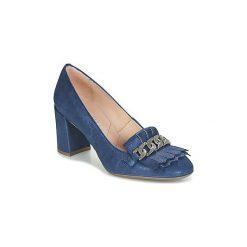 Czółenka Hispanitas  CRETA-7. Niebieskie buty ślubne damskie Hispanitas. Za 455,20 zł.