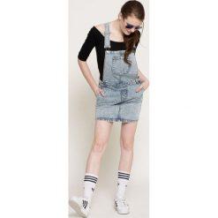 Noisy May - Sukienka. Szare sukienki z falbanami marki Noisy May, na co dzień, m, z bawełny, casualowe, midi, proste. W wyprzedaży za 89,90 zł.
