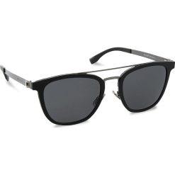 Okulary przeciwsłoneczne BOSS - 0838/S Mtbk/Smtdkrt 793. Czarne okulary przeciwsłoneczne damskie lenonki marki Boss. W wyprzedaży za 679,00 zł.