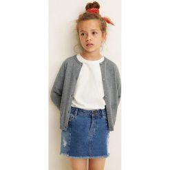 Mango Kids - Sweter dziecięcy Emma 104-164 cm. Szare swetry dziewczęce marki Mohito, l. Za 59,90 zł.