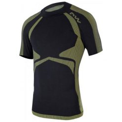 Odzież termoaktywna męska: One Way Koszulka Męska Master Shirt Black/Yellow S-M