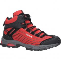 Czerwone buty trekkingowe sznurowane softshell Casu A1527-4. Czerwone buty trekkingowe męskie Casu, z softshellu, na sznurówki. Za 99,99 zł.