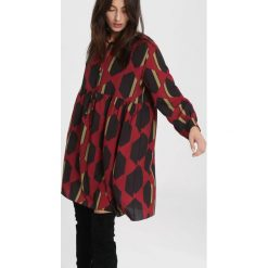 Bordowa Sukienka Talking To You. Czerwone sukienki other, uniwersalny, midi. Za 79,99 zł.