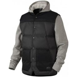 Oakley Kurtka Ambassador Fleece Granite Heather S. Brązowe kurtki sportowe męskie marki Oakley, m, z polaru. W wyprzedaży za 349,00 zł.
