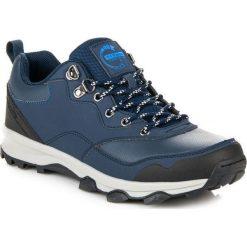 Buty trekkingowe męskie: AX BOXING Buty męskie granatowo-czarne r. 41