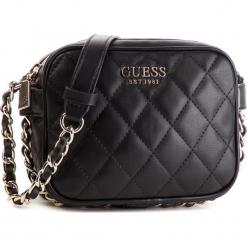 Torebka GUESS - HWVG71 75690 BLA. Czarne torebki klasyczne damskie Guess, z aplikacjami, ze skóry ekologicznej. Za 449,00 zł.