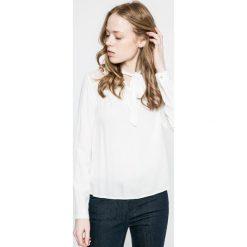 Vero Moda - Bluzka. Niebieskie bluzki z odkrytymi ramionami marki Vero Moda, z bawełny. W wyprzedaży za 79,90 zł.