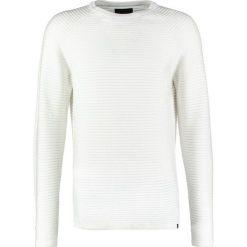 Swetry męskie: Jack & Jones JCOWIND CREW NECK NOOS Sweter blanc de blanc
