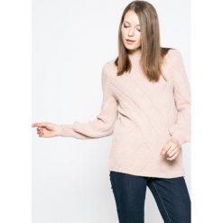 Only - Sweter Luv. Szare swetry klasyczne damskie ONLY, l. W wyprzedaży za 79,90 zł.