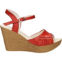 SANDAŁY CASU S35. Czerwone sandały damskie marki Melissa, z kauczuku. Za 99,99 zł.