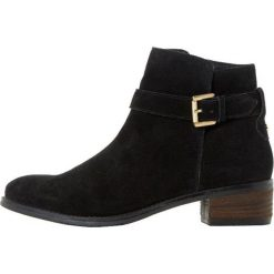 Dune London PHEOBIE Ankle boot black. Czarne botki damskie na zamek Dune London, z materiału. Za 549,00 zł.