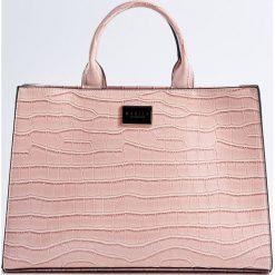 Torebki i plecaki damskie: Torba z ekologicznej skóry - Różowy