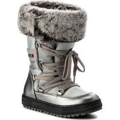 Kozaki dziewczęce: Śniegowce NATURINO – Avila 0013501193.02.9111 Acciaio S