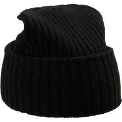 WEEKEND MaxMara MILVA Czapka schwarz. Czarne czapki zimowe damskie WEEKEND MaxMara, z materiału. Za 419,00 zł.