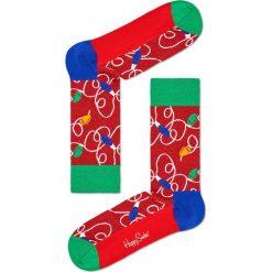 Happy Socks - Skarpety Lamp Christmas. Czerwone skarpetki męskie Happy Socks. W wyprzedaży za 29,90 zł.