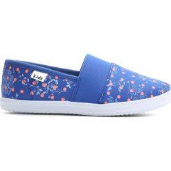 Niebieskie Tenisówki Dancing Feets. Niebieskie buty sportowe dziewczęce Born2be, z materiału, z okrągłym noskiem. Za 34,99 zł.