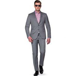 Garnitur Szary Malveno. Szare garnitury marki LANCERTO, w kolorowe wzory, z bawełny. W wyprzedaży za 499,90 zł.