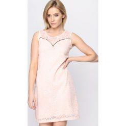 Sukienki: Różowa Sukienka The Crown