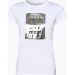 Armani Exchange - T-shirt damski, czarny. Czarne t-shirty damskie marki Armani Exchange, l, z materiału, z kapturem. Za 269,95 zł.