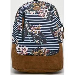 Roxy - Plecak. Szare plecaki damskie Roxy, z materiału. Za 199,90 zł.