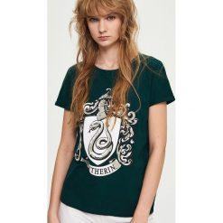 T-shirty damskie: T-shirt harry potter – Khaki