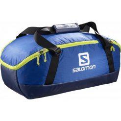 Salomon Torba Sportowo-Podróżna Prolog 40 Bag Surf The Web/Acid Lime. Zielone torby podróżne Salomon, w paski. W wyprzedaży za 209,00 zł.
