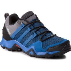 Buty adidas - Terrex Ax2 Cp AQ0786 Blubea/Cblack/Grefiv. Niebieskie buty trekkingowe męskie marki Adidas, z materiału, outdoorowe, adidas terrex, climaproof (adidas). W wyprzedaży za 299,00 zł.