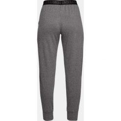 Spodnie sportowe damskie: Under Armour Spodnie damskie Pla Up Pant Solid szare r. XL (1311332-090)