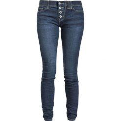 Sublevel Ladies Button Skinny Denim Jeansy damskie ciemnoniebieski. Niebieskie rurki damskie Sublevel, z denimu. Za 144,90 zł.