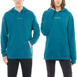 Bluza Vans Overtime Hoodie (VA3PBDYDW). Szare bluzy męskie Vans, z bawełny. Za 199,99 zł.
