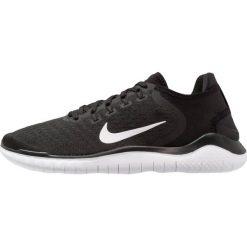 Nike Performance FREE RN 2018 Obuwie do biegania neutralne black/white. Czarne buty do biegania męskie Nike Performance, z materiału. Za 399,00 zł.