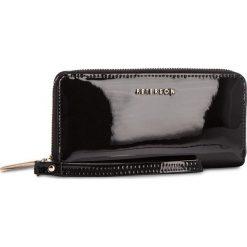 Duży Portfel Damski PETERSON - 781-14-01-07 Black. Czarne portfele damskie Peterson, z lakierowanej skóry. Za 149,00 zł.