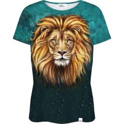 Colour Pleasure Koszulka damska CP-030 196 zielona r. XXXL/XXXXL. Fioletowe bluzki damskie marki Colour pleasure, uniwersalny. Za 70,35 zł.