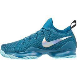 Buty sportowe damskie: Nike Performance AIR ZOOM ULTRA REACT HC Obuwie do tenisa Outdoor green abyss/metallic silver/black