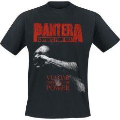 T-shirty męskie: Pantera Vulgar Display Of Power T-Shirt czarny